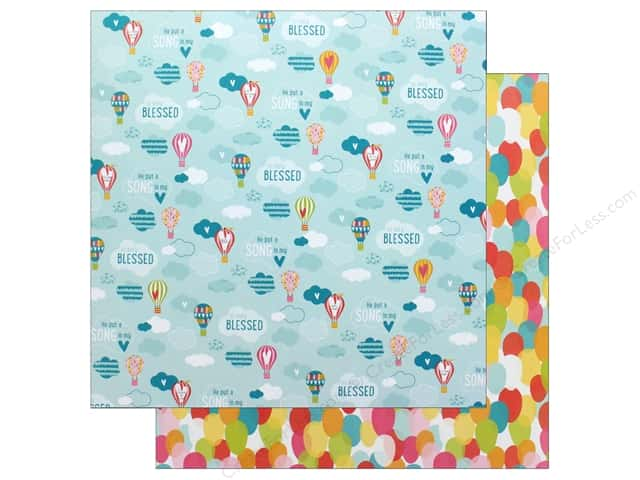 "Bella Blvd Collection Delight In His Day Paper 12""x 12"" Raise Me Up (25 pieces)"