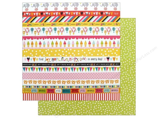 "Bella Blvd Collection Delight In His Day Paper 12""x 12"" Borders (25 pieces)"