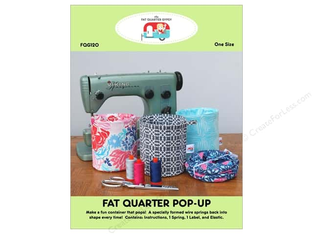 The Fat Quarter Gypsy Pop Up Pattern