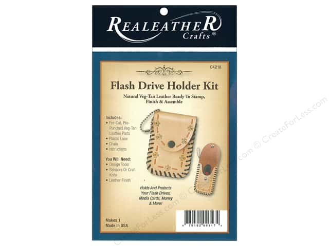 REALEATHER by Silver Creek Kit Flash Drive Holder