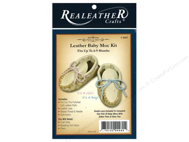 REALEATHER by Silver Creek Kit Baby Moccasin