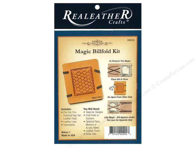 REALEATHER by Silver Creek Kit Magic Billfold
