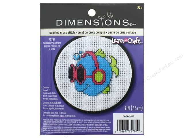 Dimensions Cross Stitch Kit Cool Fins