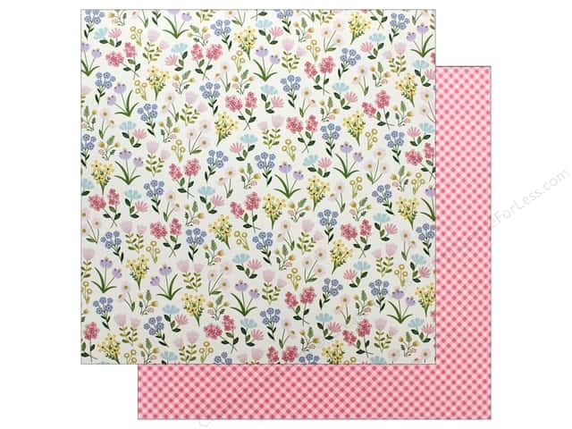 "Pebbles Collection Tealightful Paper 12""x 12"" Meadow (25 pieces)"