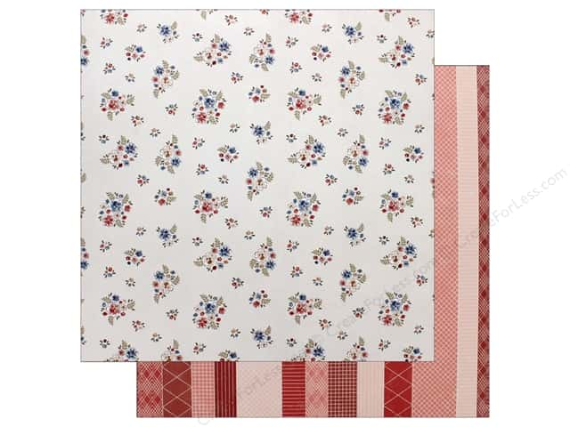 "Pink Paislee Collection Sweet Freedom Paper 12""x 12"" Paper 5 (25 pieces)"