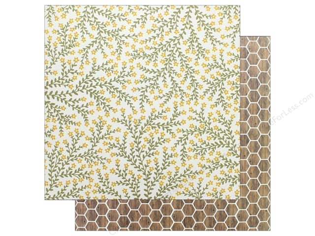 "Pebbles Collection Simple Life Paper 12""x 12"" Growing Floral (25 pieces)"