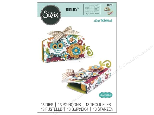Sizzix Dies Lori Whitlock Thinlits Lip Balm Holder