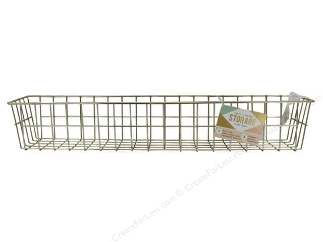 Crate Paper Craft & Offce Storage Wire System Medium Bin