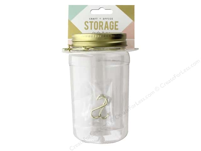 Crate Paper Craft & Offce Storage Wire System Mason Jar (3 pieces)