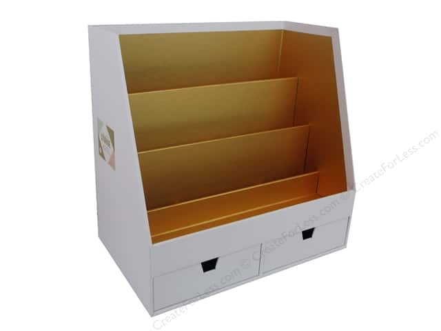 Crate Paper Craft & Offce Storage Desktop Organizer