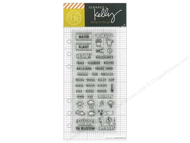 Hero Arts Poly Clear Stamp Kelly Planner Garden