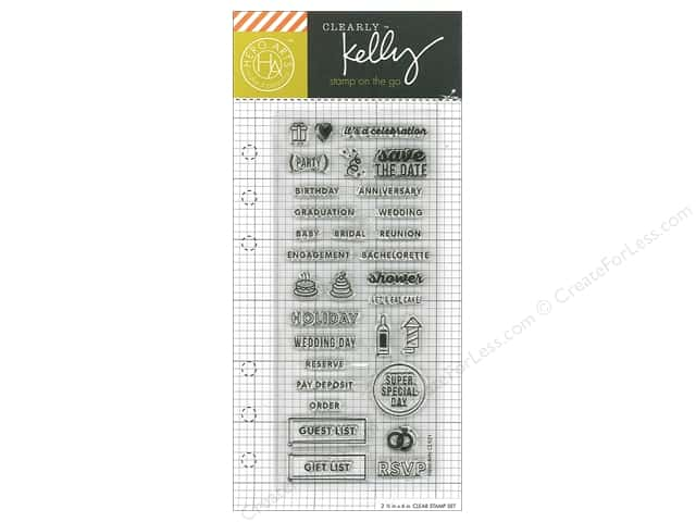 Hero Arts Poly Clear Stamp Kelly Planner Occasion