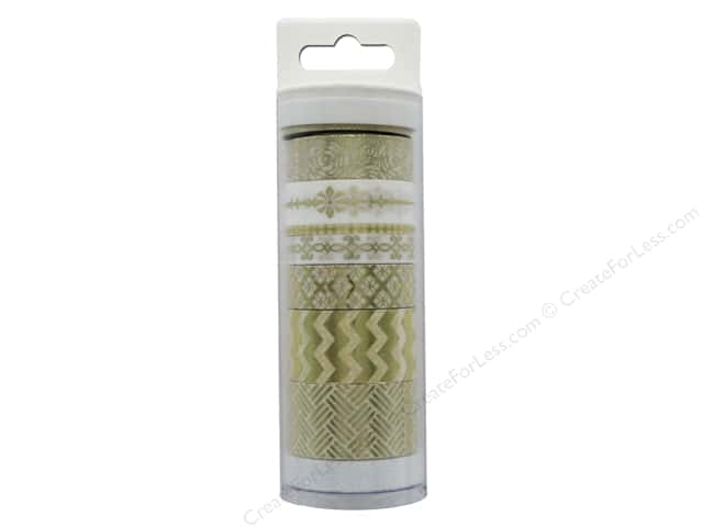 Little B Paper Tape Collection Elegance Gold 8pc