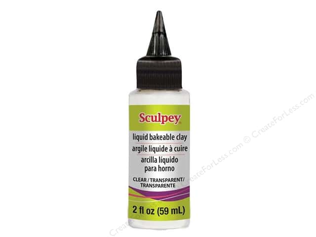Sculpey Liquid Clay 2oz Clear