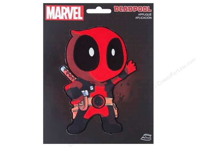 Simplicity Applique Iron On Large Deadpool Character