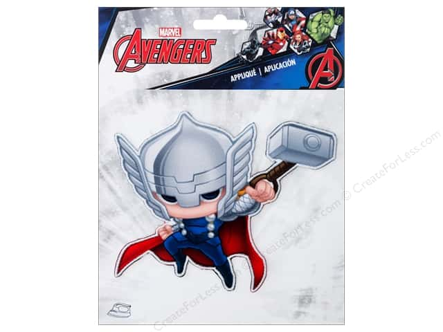 Simplicity Applique Iron On Large Thor Character
