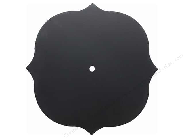 Darice Clock Face Chalkboard Fancy Bracket