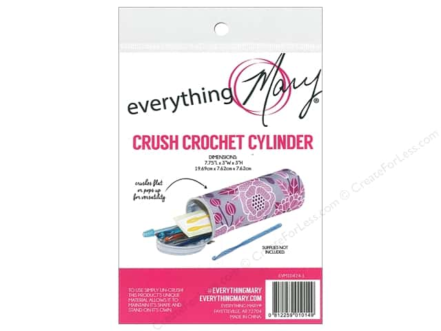 Everything Mary Crochet Hook Case Pink Floral
