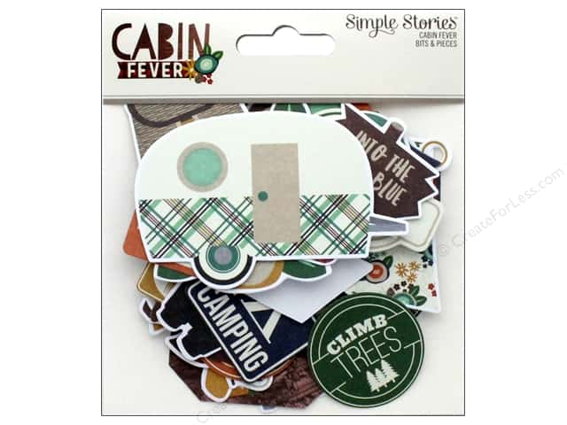 Simple Stories Collection Cabin Fever Bits & Pieces