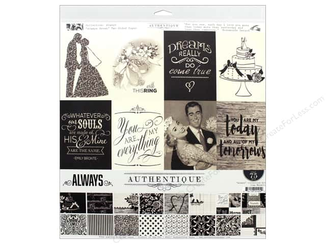 "Authentique Collection Always Collection Kit 12""x 12"""