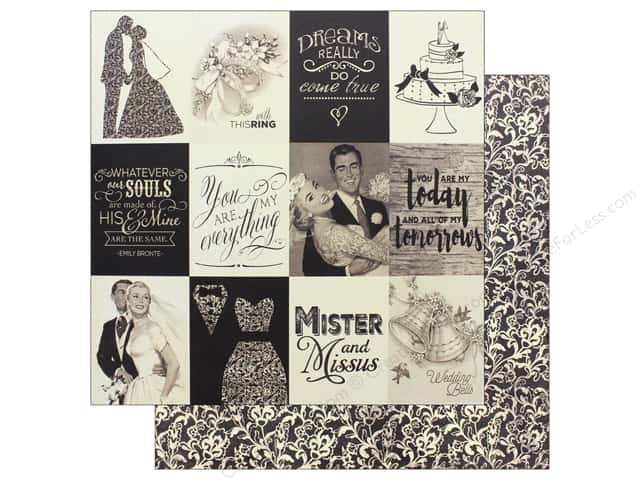 "Authentique Collection Always Paper 12""x 12"" Seven (25 pieces)"