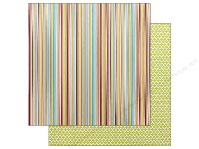"Authentique Collection Sunshine Paper 12""x 12"" Three (25 pieces)"