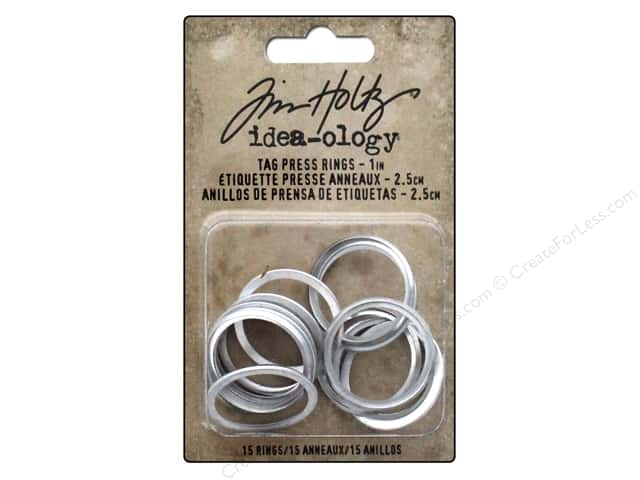 Tim Holtz Idea-ology Tag Press Rings 1""