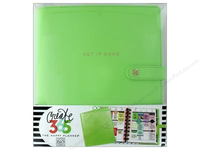 Me&My Big Ideas Create 365 Happy Planner Deluxe Cover Classic Spring Green