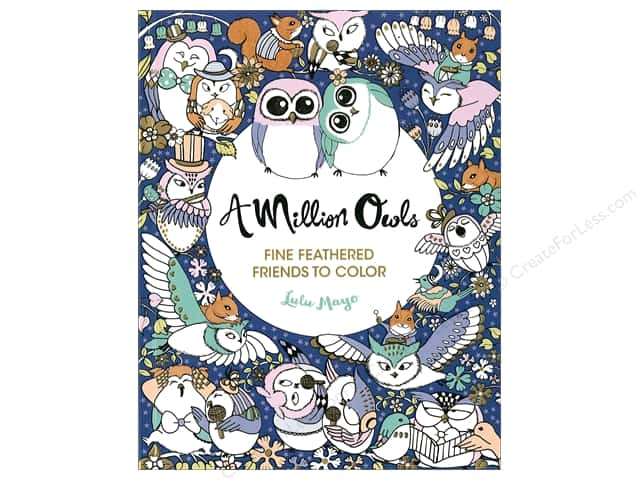 A Million Owls Coloring Book