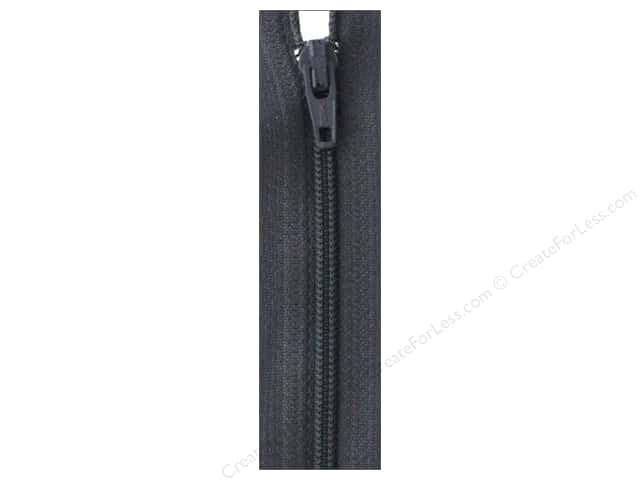 Atkinson Designs Zipper by YKK 14 in. Charcoal