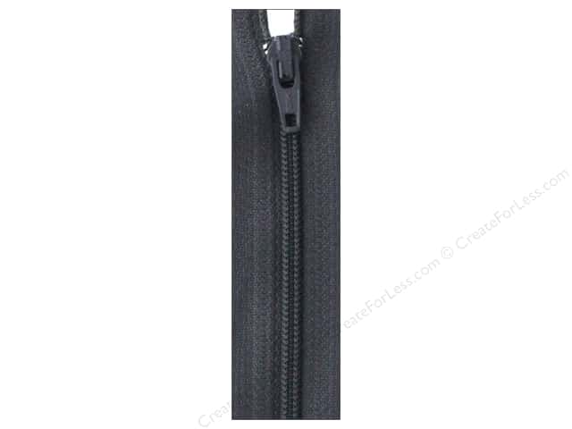 Atkinson Designs Zipper by YKK 22 in. Charcoal