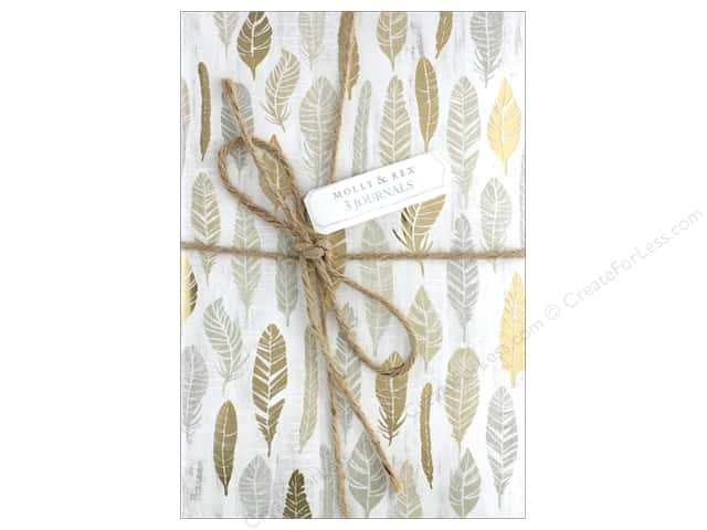 Molly & Rex Journal Twine Trio Botanical Luxe