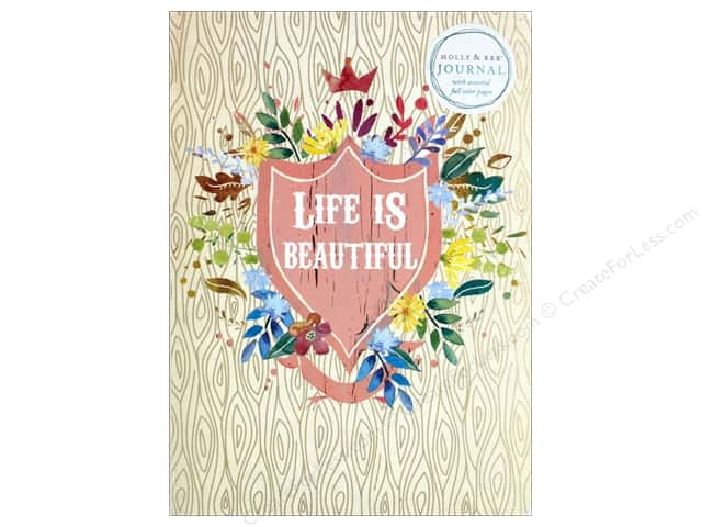 Molly & Rex Journal Soft Cover Life Is Beautiful