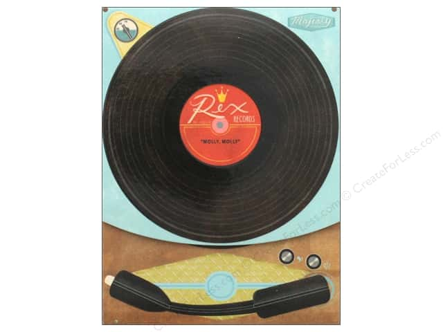 Molly & Rex Note Yesteryear Pocket Pad Record Player