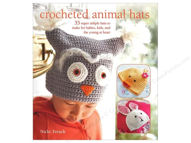 Crocheted Animal Hats Book