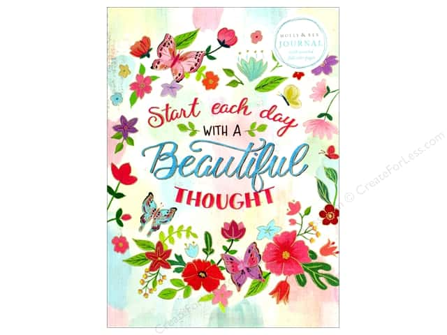Molly & Rex Journal Soft Cover Beautiful Thought