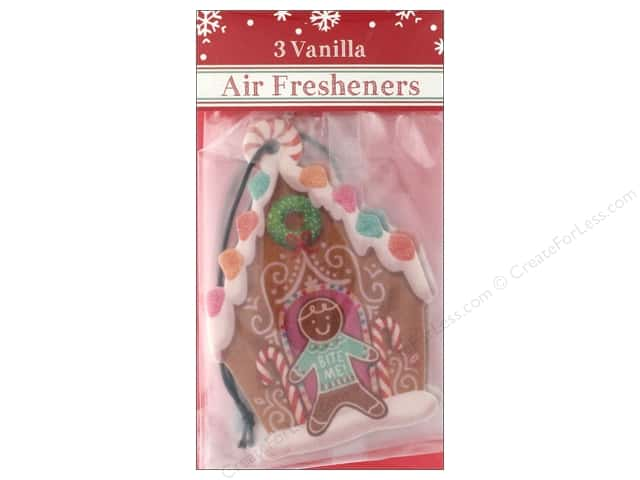 Molly & Rex Air Freshener Holiday Gingerbread House 3pc