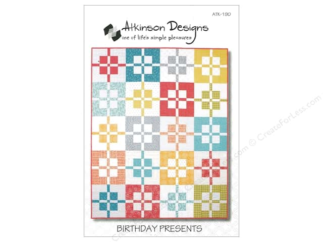 Atkinson Designs Birthday Presents Pattern