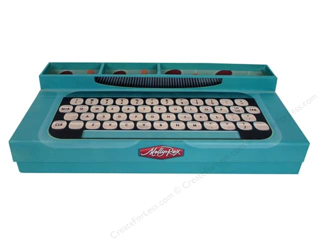 Molly & Rex Organizer Yesteryear Desk Typewriter