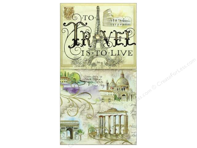 Punch Studio Note Pad Pocket Large Travel To Live