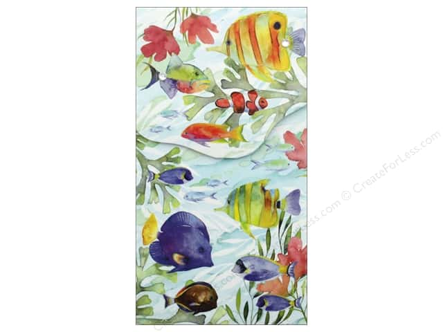 Punch Studio Note Pad Pocket Large Oceana