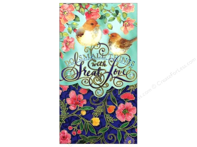 Punch Studio Note Pad Pocket Large Small Things/Great Love