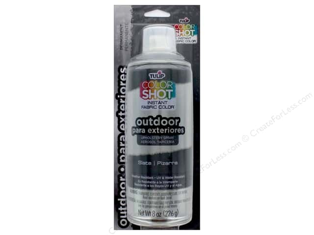 Tulip Color Shot Outdoor Upholstery Spray 8oz Slate