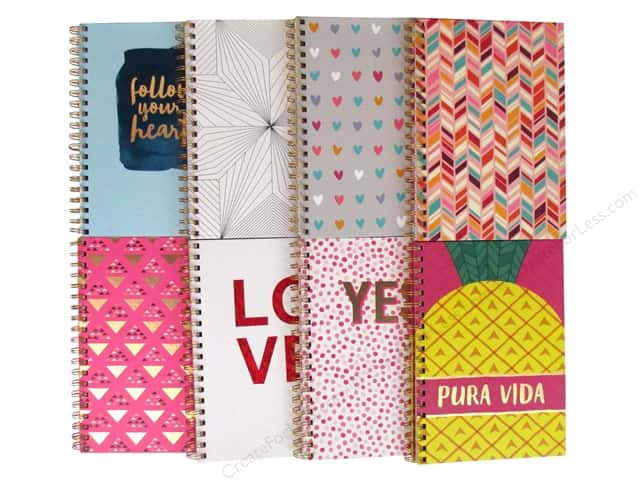 American Craft Journals 7 x 10 in. Assortment 8 pc.