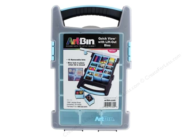 ArtBin Quick View Carrying Case With Lift Out Bins