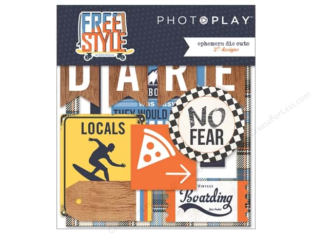 Photo Play Collection Freestyle Ephemera Die Cuts