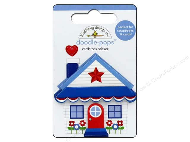 Doodlebug Collection Yankee Doodle Doodle Pops Cute Cottage