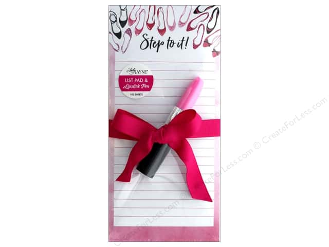 Lady Jayne Note Pad Magnetic List With Pen Shoe Step To It