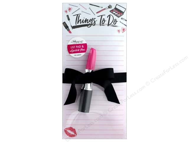 Lady Jayne Note Pad Magnetic List With Pen Beauty