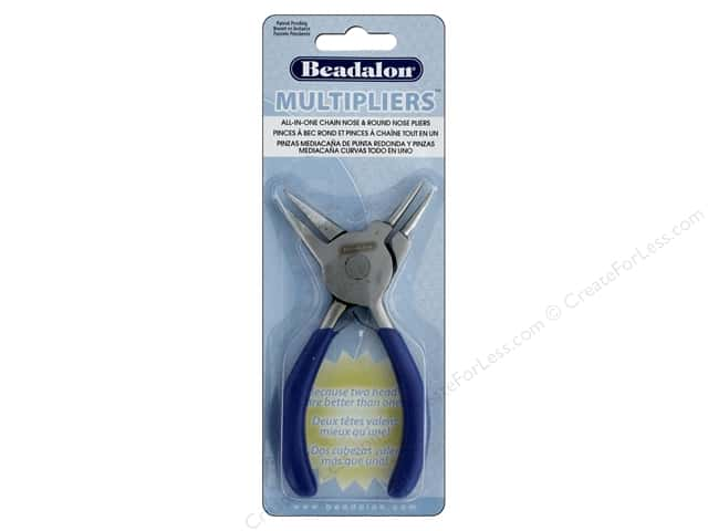 Beadalon MultiPliers Round Nose & Chain Nose Combo